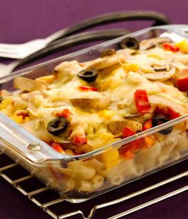 Baked Mushroom Macaroni