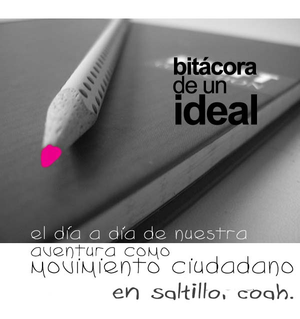 bitacora de un ideal