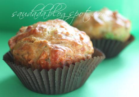 muffiny babeczki z krabami pikantne
