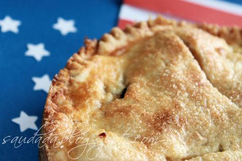 amerykańska szarlotka jabłecznik apple pie ciasto