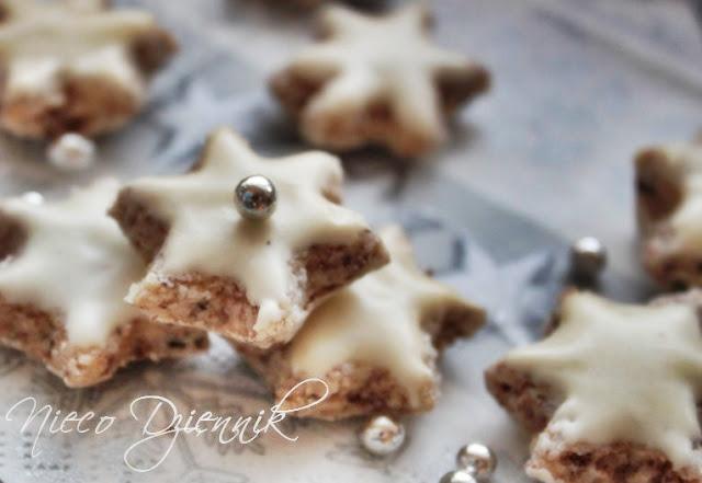gwiazdki ciastka ciasteczka cynamonowe bez mąki