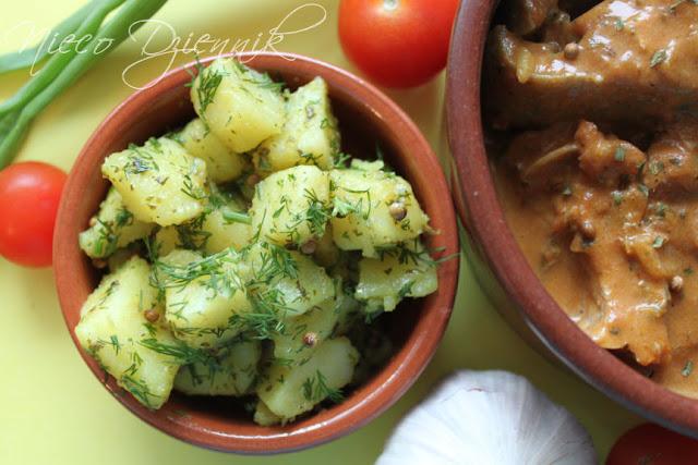 ziemniaki shebu bhaji po indyjsku kuchnia indyjska