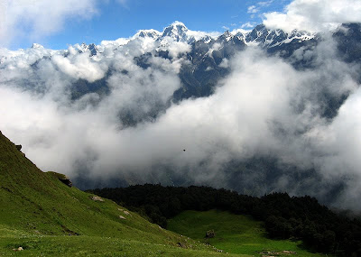 Himalayan View From Auli
