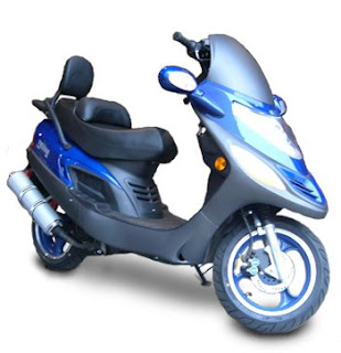 Gas scooters january 2009 for Cheap gas motor scooters