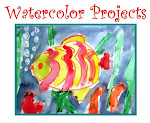 """Watercolor  Projects"" Lesson Plans. 19-page PDF  Booklet. $5"