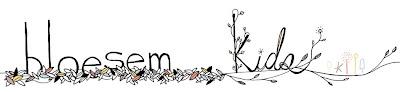 Bloesem kids banner redsign