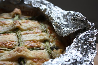Savory Asparagus pie recipe