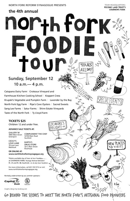 North Fork Foodie Tour 2010