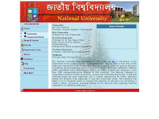 Images of National University Bangladesh
