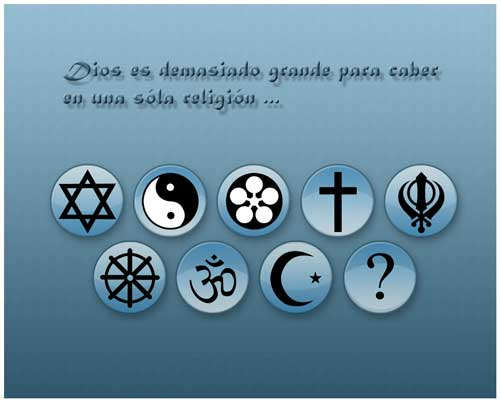 LAS RELIGIONES DIVIDEN, CREER EN ALGO NOS UNE! Allreligions2