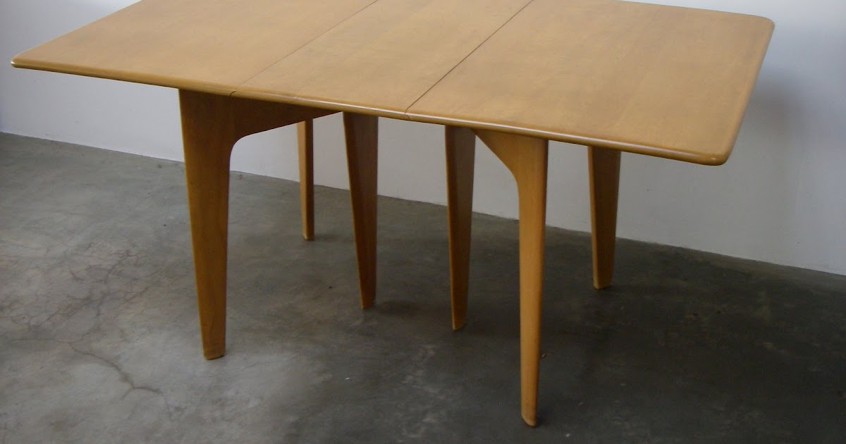 Sharp Design Works Heywood Wakefield Drop Leaf Dining Table