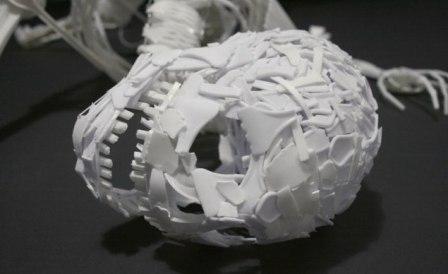 Como hacer un esqueleto humano en material reciclable - Imagui