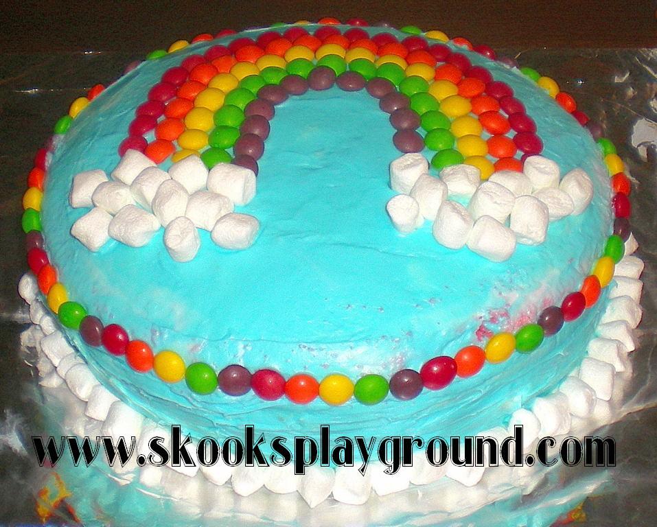 Skooks Playground Diy Rainbow Cake