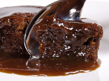 Chocolate Delights: Chocolate sticky toffee pudding