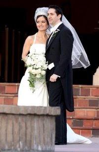 Danica McKellar Mike Verta Wedding Pictures