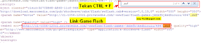 Trik Bermain Games Flash Secara Offline (Download Games Flash)