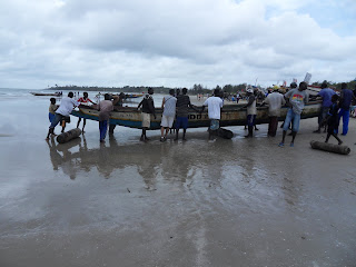 Pescadores em Cap Skirring