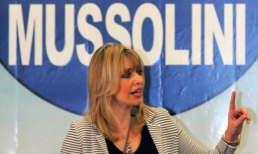 Il blog di Alessandra Mussolini