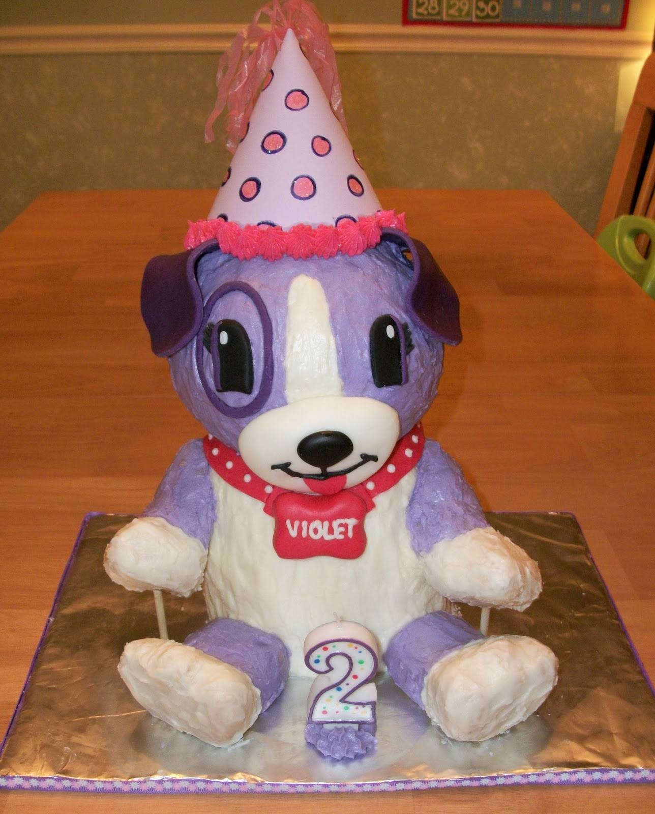 Bellissimo Specialty Cakes Maeves 2nd Birthday Cake 1110