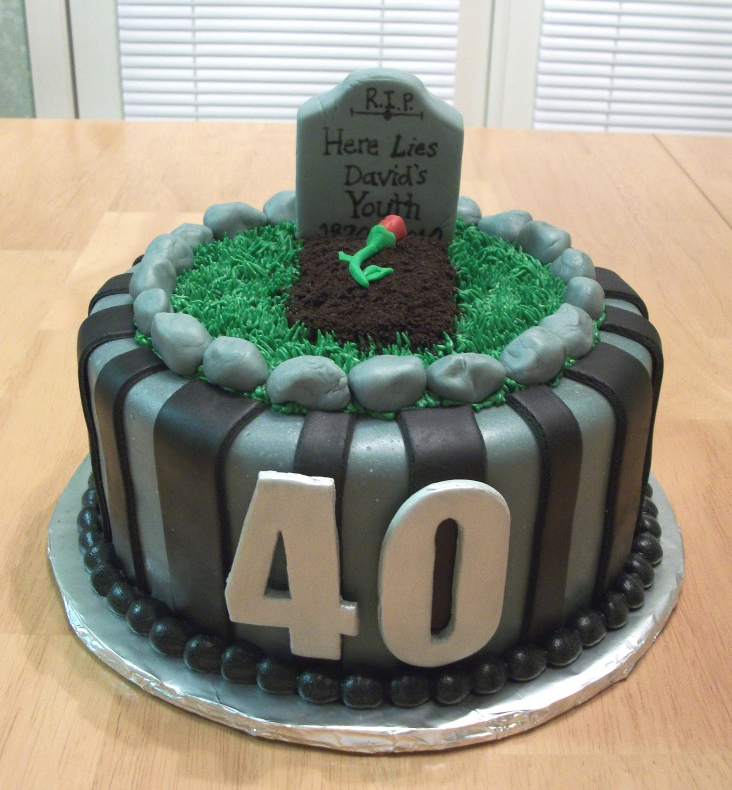 Bellissimo specialty cakes 40th birthday cake for 40th birthday cake decoration