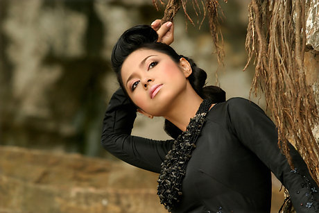 vietnamese model viet trinh in ao dai hot images