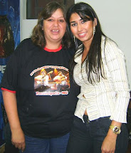 Gaby(esposa Fabiano) e Dione