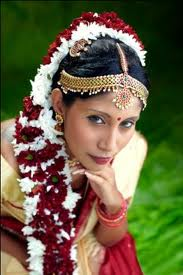 South Indian Weddings: Tamil Bridal Plait Hairstyle