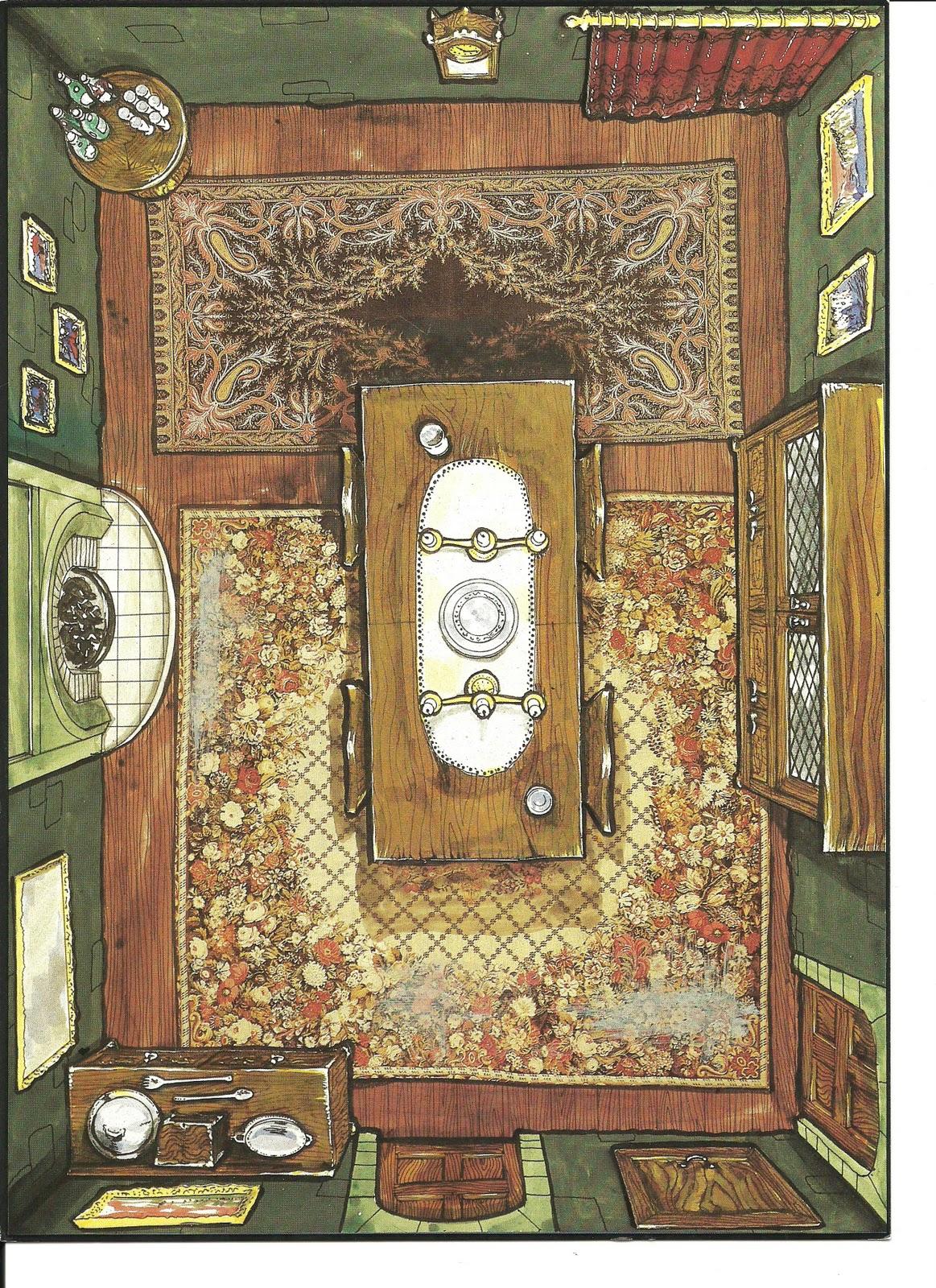 David 39 S Rpg Halls Of Horror Gothic Floor Plans