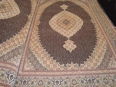قیمت فرش تبریز طرح ماهی