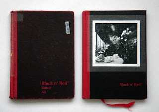 black n red notebooks