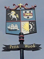 Petts Wood sign