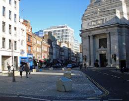 Great Queen Street public space