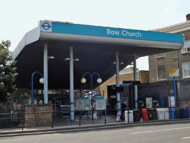 Bow Church DLR