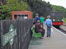 Smallbrook Junction (steam platform)