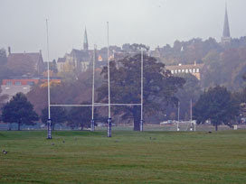 the playing fields of Harrow