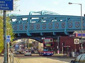 Kilburn Metropolitan line viaduct