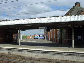 Stratford platform 10a