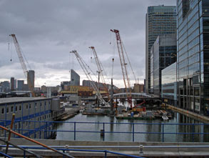 West India Quay, from West India Quay DLR