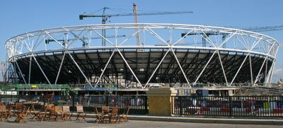 Olympic Stadium July 2009
