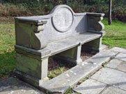 Wilberforce bench, at Wilberforce Oak