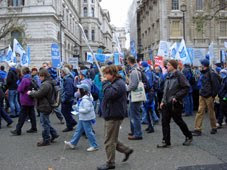 The Wave, passing 10 Downing Street