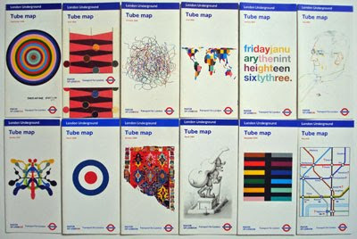twelve tube map covers