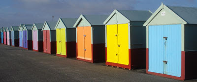 Beach huts, Hove