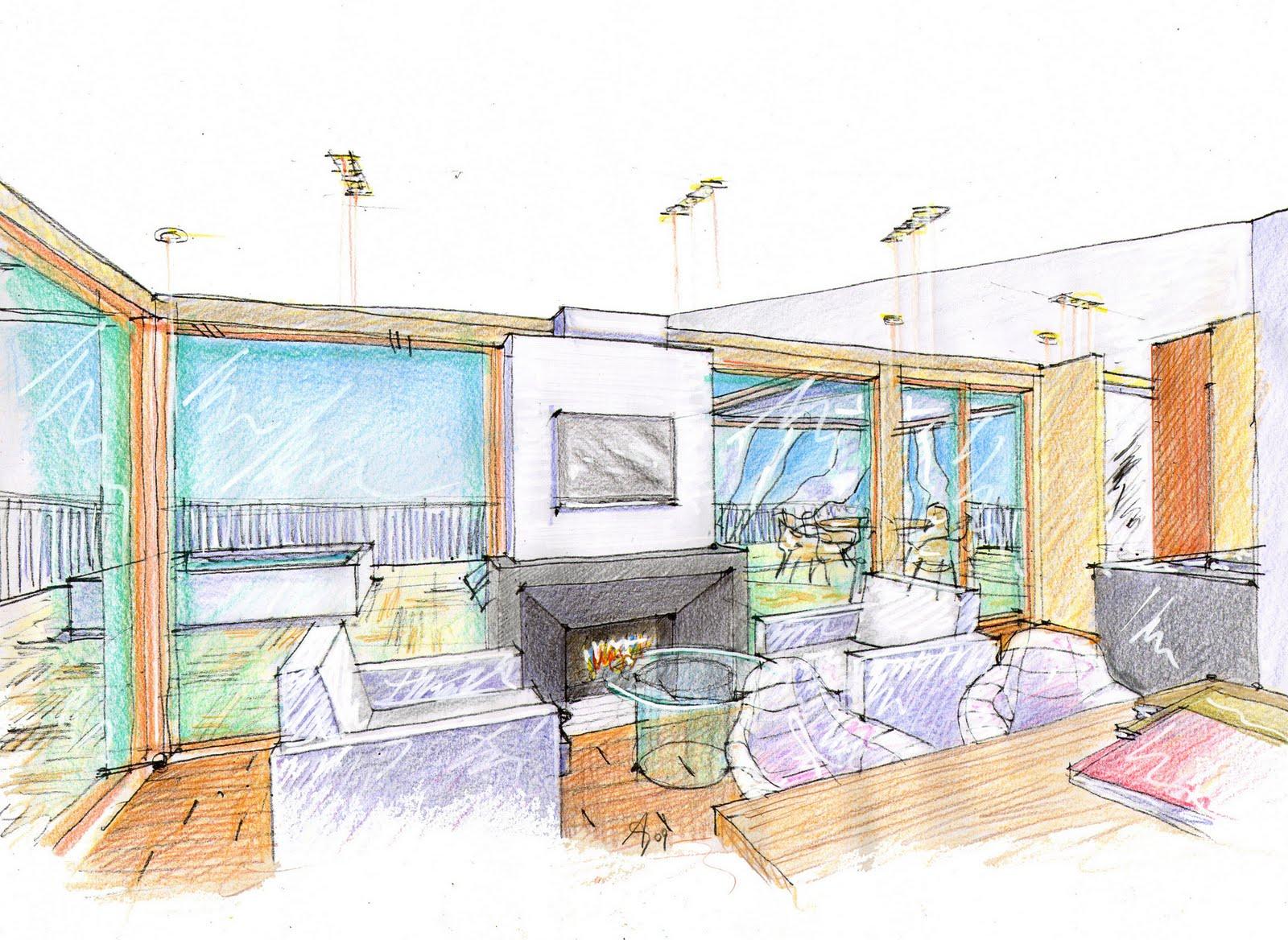 Vent 39 anni di disegni dell 39 arch antonio saporito ottobre 2010 for Disegni di case in prospettiva