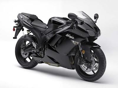 Kawasaki Ninja Zx 6r Black. The Kawasaki Ninja ZX-6R Super