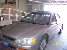 My new Honda Accord