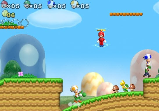 Super Mario Brothers Cheats For Wii