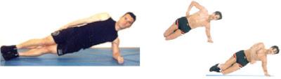 ejercicio de abdominales lateral