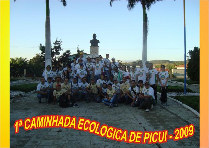 1ª CAMINHADA ECOLOGICA DE PICUI - 01