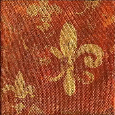 Fleur De Lis paintings,